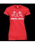 """Marškinėliai """"Mona kisa"""""""