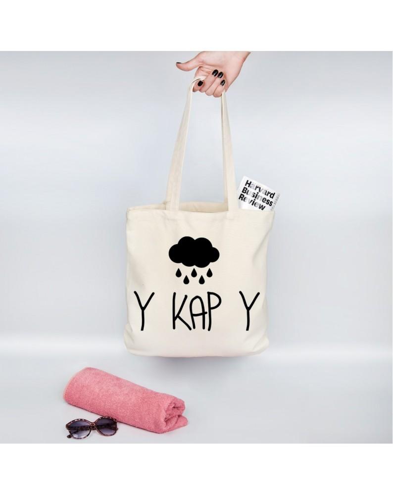"""Organinis krepšelis """"Y KAP Y"""""""