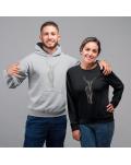 """Marškinėliai / Džemperiai  porelei """"Elnias 3"""""""