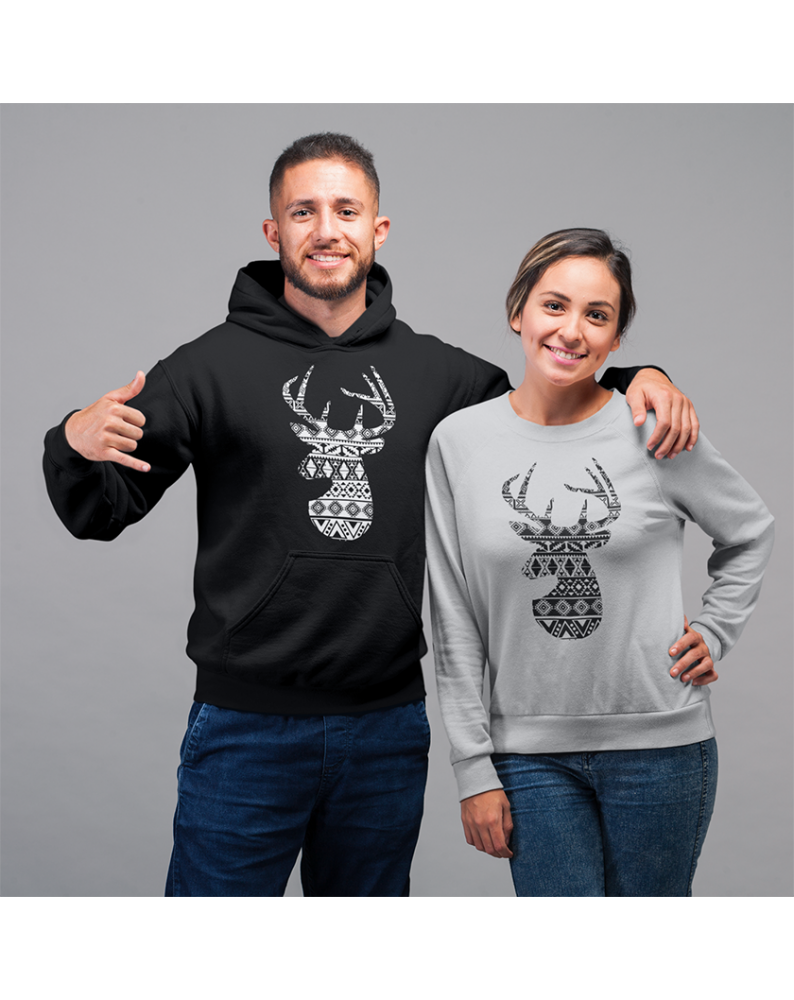 """Marškinėliai / Džemperiai  porelei """"Elnias 1"""""""
